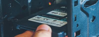 Замена жесткого диска SSD
