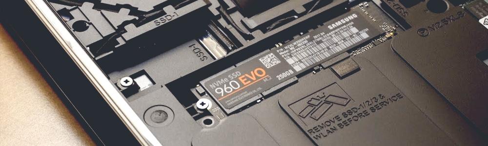 Ремонт жесткого диска на ноутбуке